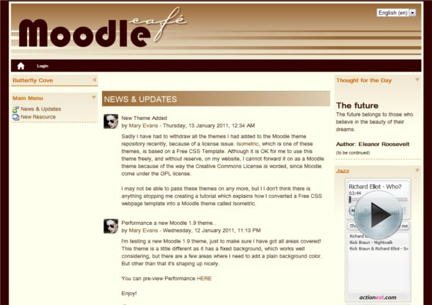 Templates Moodle