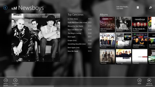 Deezer para windows 8