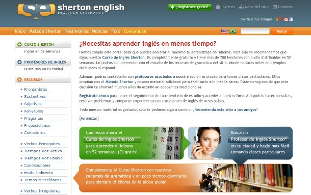 sherton english