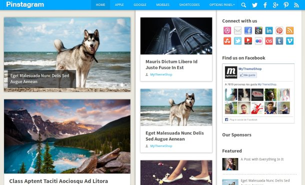 theme wordpress para fotografo