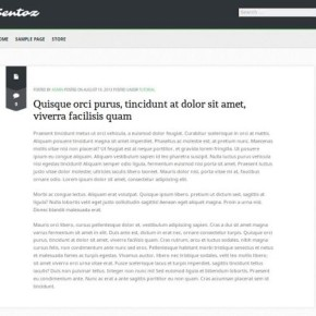 plantilla de wordpress sentoz
