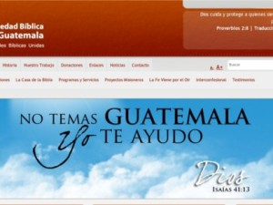 Sociedades bíblicas de Guatemala