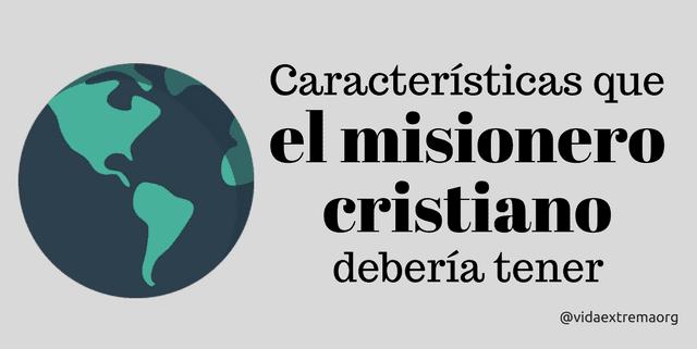 misionero cristiano