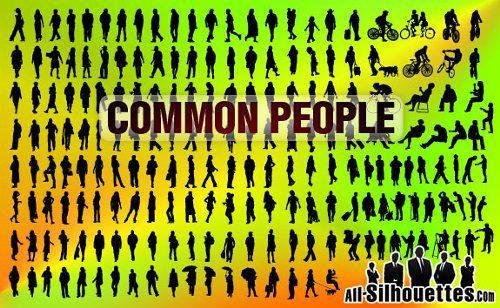 Siluetas de personas 2