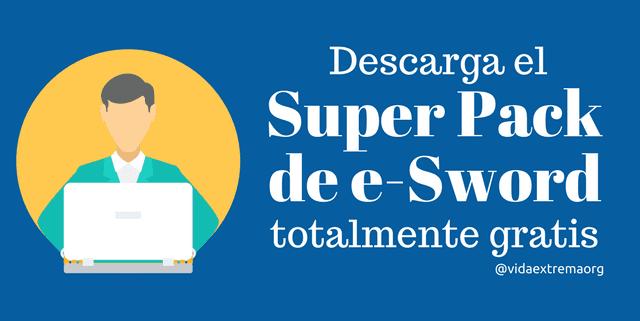 Descarga el super pack de e-Sword gratis