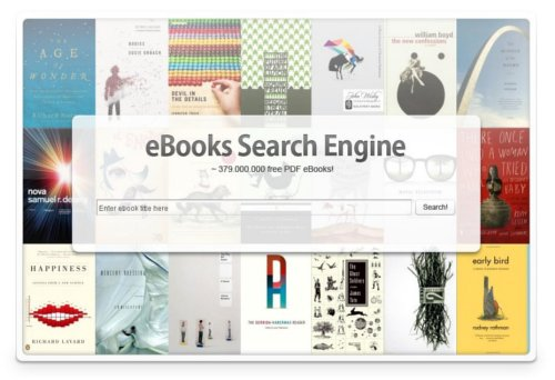 Ebook search engine