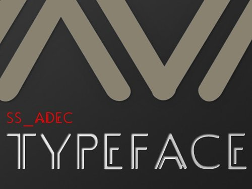 Typeface free font