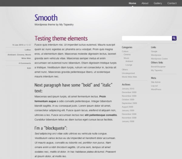themes gratis para wordpress
