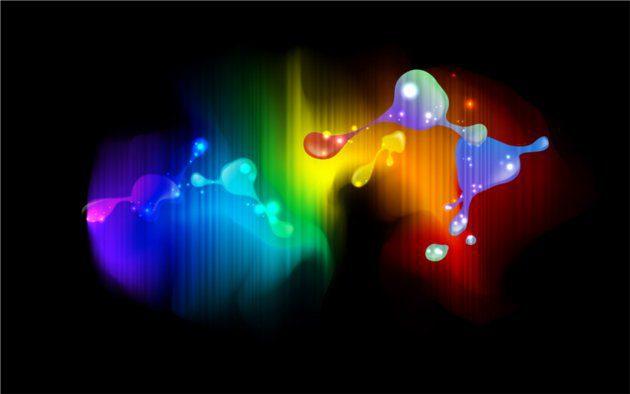 diapositivas coloridas
