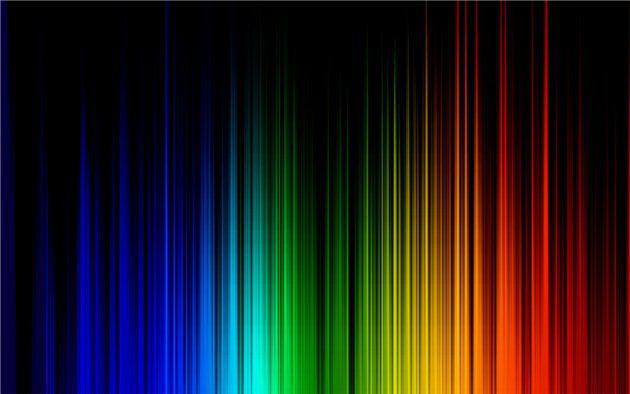 rainbow design