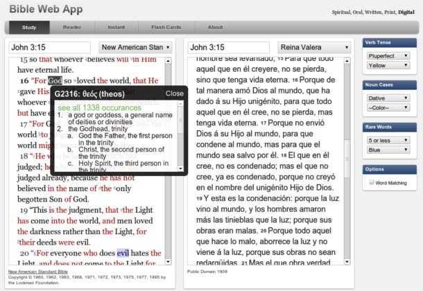 Bible Web App