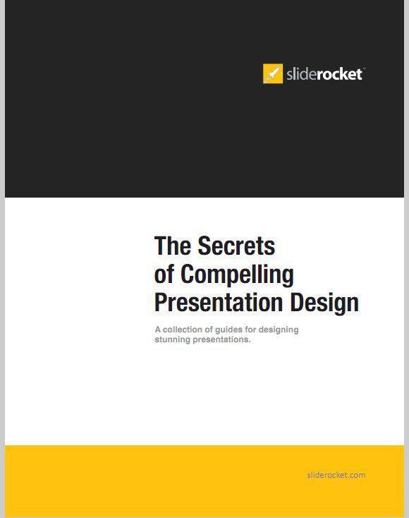 Los secretos de diseño de una presentación convincente