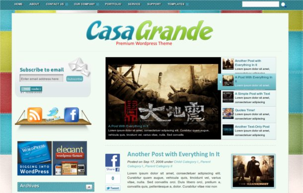 themes para wordpress