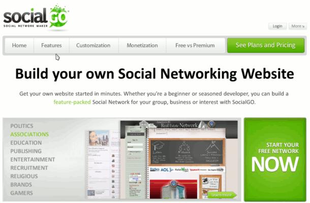 crear una red social gratis
