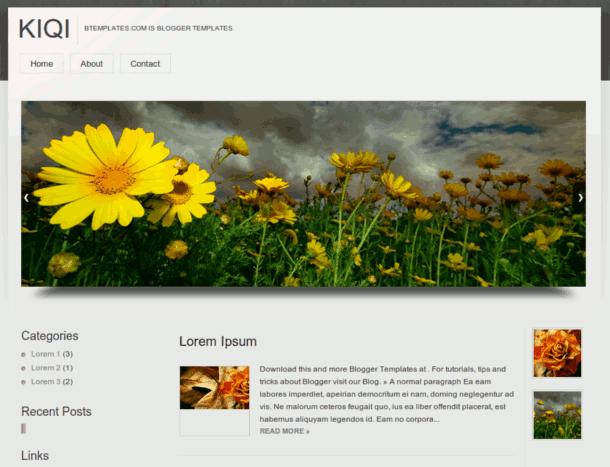 plantillas blogger