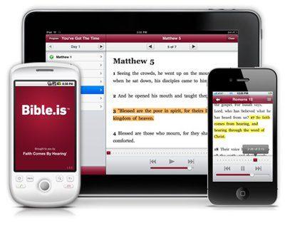 La Biblia para dispositivos touch