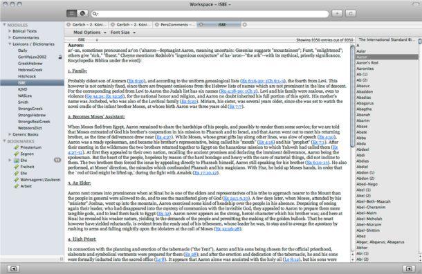 diccionario biblica para mac