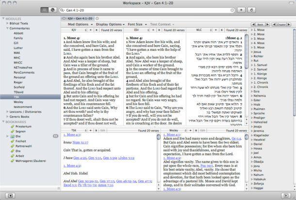 la biblia para Mac