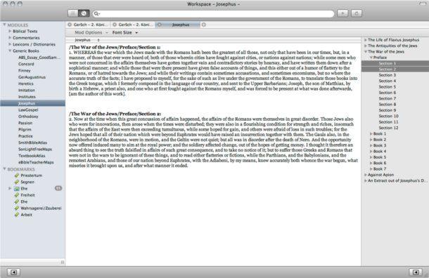 notas biblica para mac