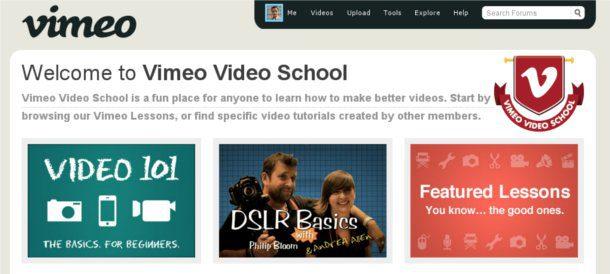 vimeo video school