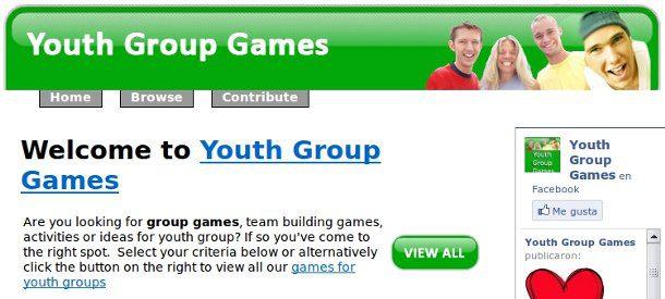 juegos para jóvenes