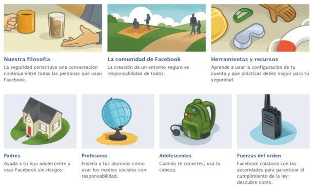 Facebook manual de seguridad