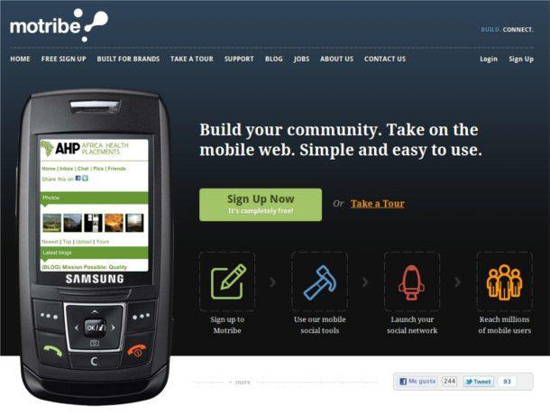crear una red social para celulares