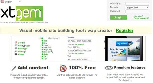Crear un sitio web para moviles