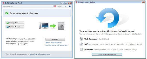 Backup de seguridad online
