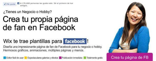 crear una pagina en Facebook