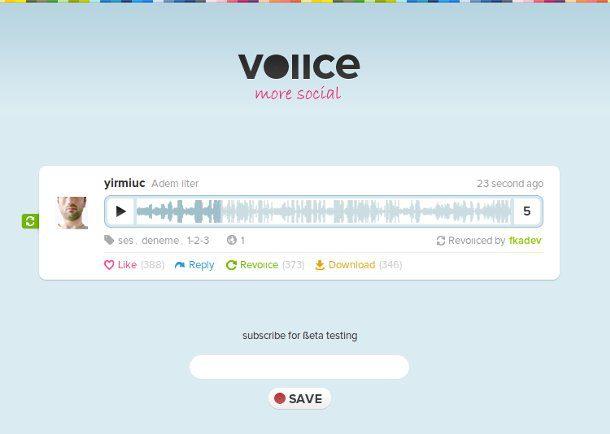 Enviar mensajes de voz