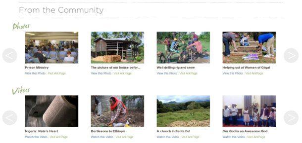 Sistema de blogs para misioneros