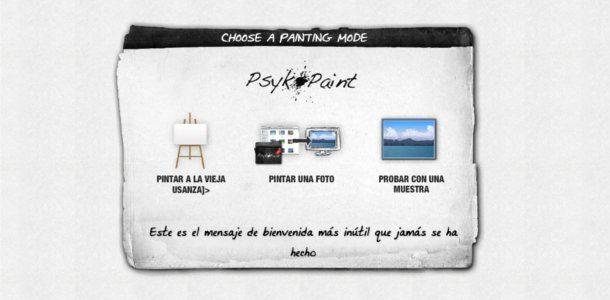 Editar fotos en línea con PsykoPaint