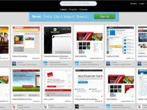 Guardar tus sitios web