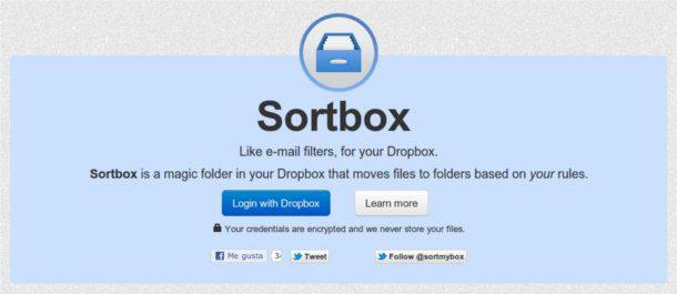 organizar tus carpetas en Dropbox