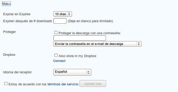 Enviar correos grandes