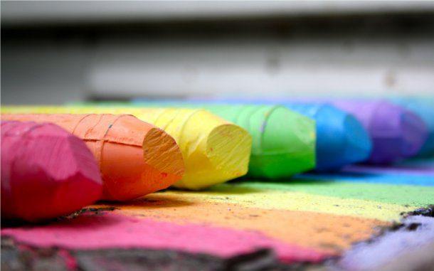 Fondos de crayola