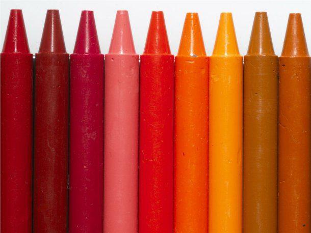 Fondos de crayola roja