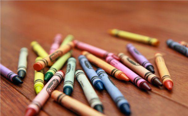 Fondos de crayolas