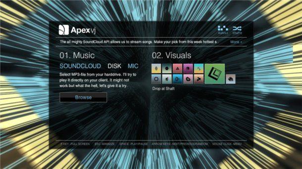 Visualizadores para musica