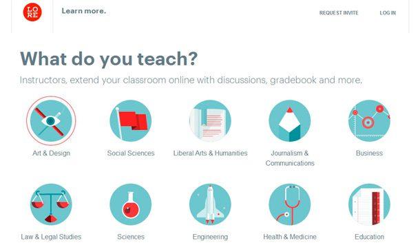 Comunidad académica en linea
