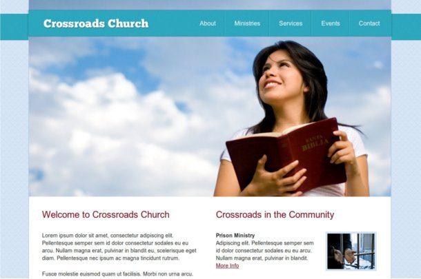 Plantilla para iglesia