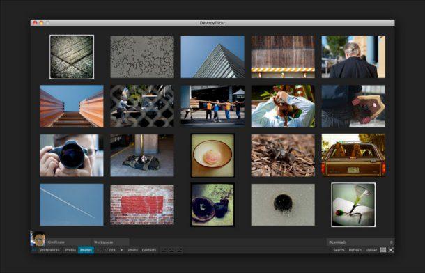 Gestionar tu biblioteca de imágenes en Flickr