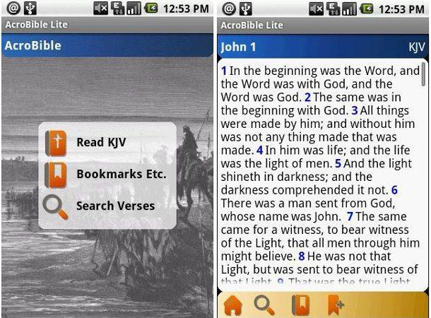 Biblia para celulares