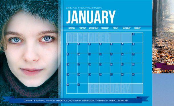 Calendario InDesign
