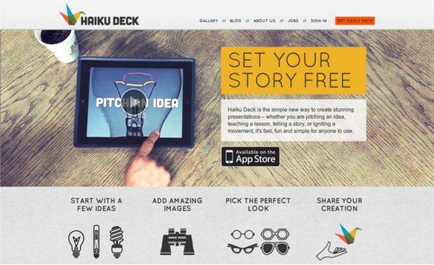 Crear presentaciones en el iPad