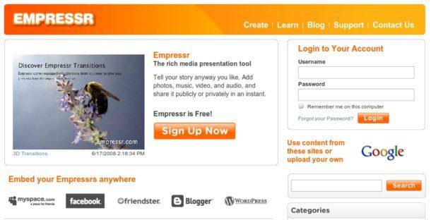 Crear presentaciones interactivas
