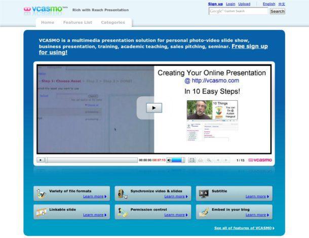 Crear presentaciones multimedia online