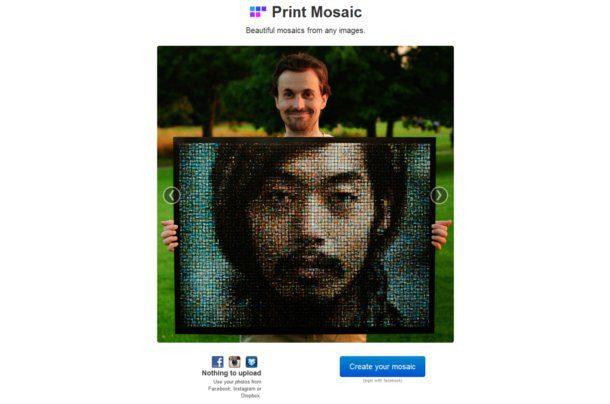 Crear un mosaico de fotos