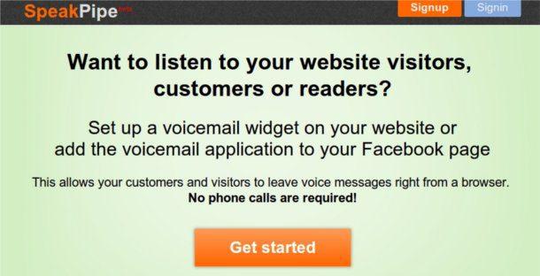 Crear mensajes de voz